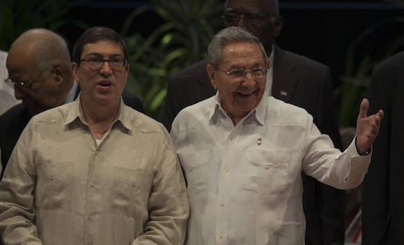 Segmento oficial de la VII Cumbre de la Asociación de Estados del Caribe. Foto: Ismael Francisco/ Cubadebate