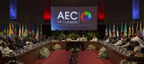 Plan de Acción aprobado en la VII Cumbre de la AEC