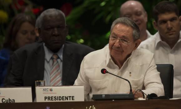 Raúl Castro interviene en la VII Cumbre del Caribe. Foto: Ismael Francisco/ Cubadebate