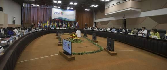 Analizan cancilleres de AEC directrices para nueva etapa de trabajo