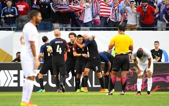 EE.UU venció a Costa Rica y se salvó de la eliminación. Foto: USA TODAY Sports