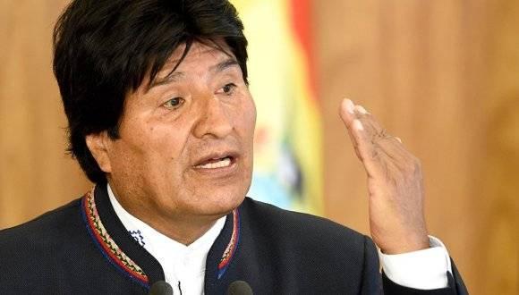 Presidente de Bolivia, Evo Morales Ayma. Foto: AFP.