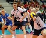 Equipo de Finlandia. Liga Mundial de Voleibol. Foto: Archivo.