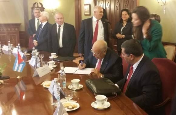 Cabrisas y Rogozin presiden reunión de Comisión Intergubernamental Cuba-Rusia