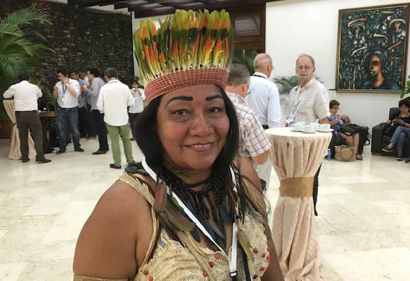 Gobernadora indígena de Caquetá.