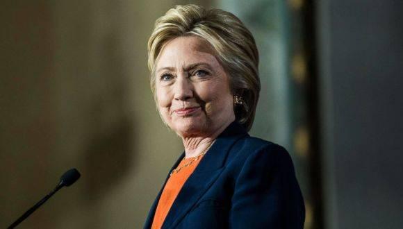 La candidata demócrata, Hillary Clinton. Foto: Getty Images.