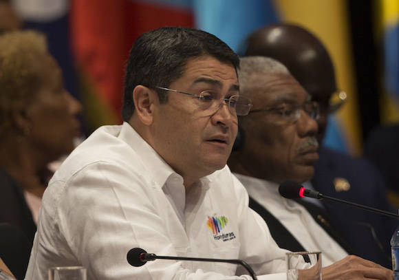 Juan Carlos Hernández en la Cumbre de la AEC. Foto: Ismael Francisco/ Cubadebate