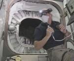 El astronauta Jeff Williams es el primer ser humano en un hábitat espacial hinchable. Foto: LaInformación.com