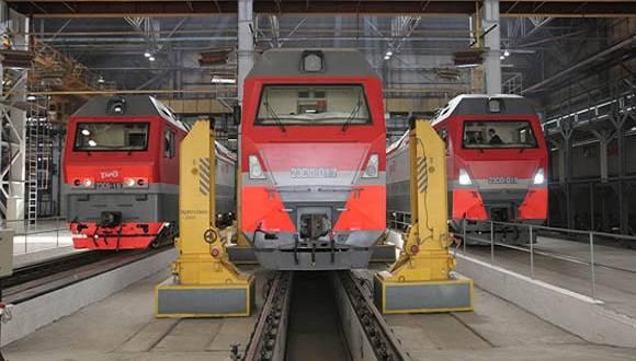 El acuerdo permitirá la llegada a Cuba de 60 locomotoras nuevas TGM8 y 15 locomotoras TGM4. Foto: Sputnik.