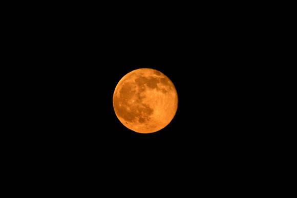 luna llena azusa california. Foto: Reuters
