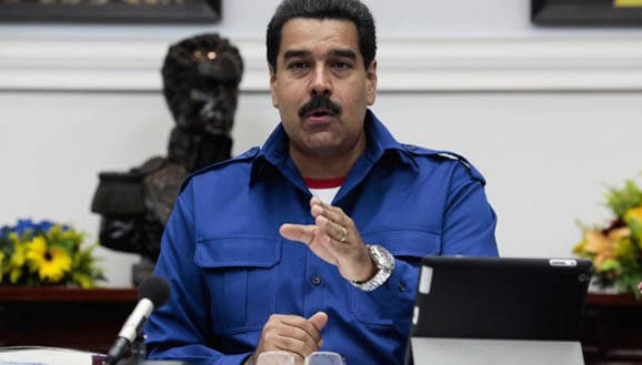 Maduro aseguró que tiene evidencia de las grandes cantidades y sumas de dinero que desde España reciben los sectores opositores. Foto: Archivo.