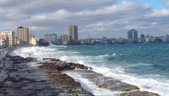 Se eleva nivel del mar en Cuba a causa del cambio climático.