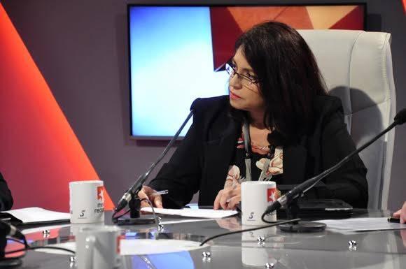 Yamile Berra Cires, vicepresidenta del Banco Central de Cuba