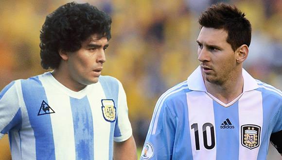 El astro argentino, Diego Armando Maradona, salió en defensa de Lionel Messi y culpó a la AFA de los desastres del fútbol argentino.