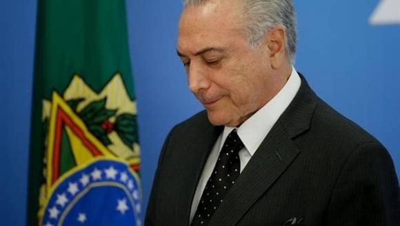 Previamente Temer había destituido al presidente de la EBC, Ricardo Melo. | Foto: EFE.