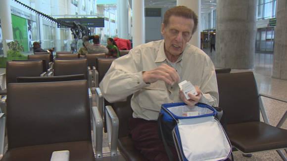 Phillips confía en que seguirá con vida mientras siga tratándose en Cuba. Foto: CBC.