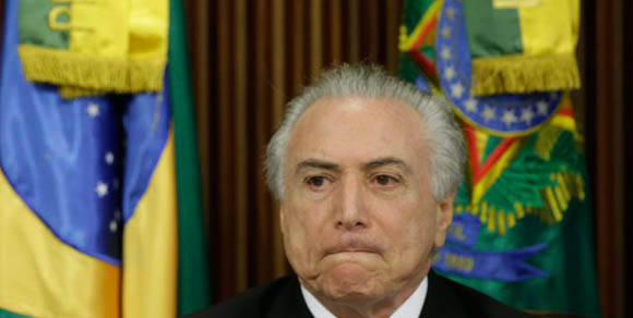 Henrique Eduardo Alves, Ministro de Turismo del Gobierno del Presidente interino de Brasil, Michel Temer, renunció este jueves. Foto: AVN