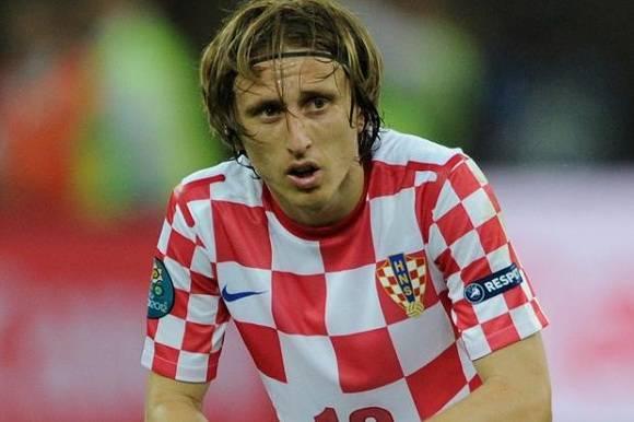 Luka Modric, la estrella de Croacia.