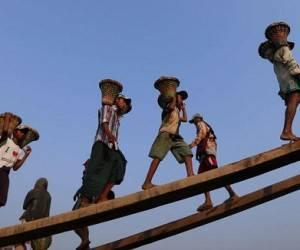 niños trabajo forzado