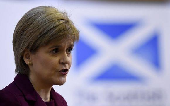 La ministra principal escocesa, Nicola Sturgeon. Foto tomada de IB Times.
