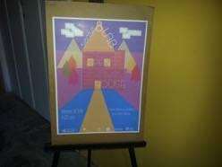 Cartel de presentación de la exposición Open House. Carlos Karakadze.