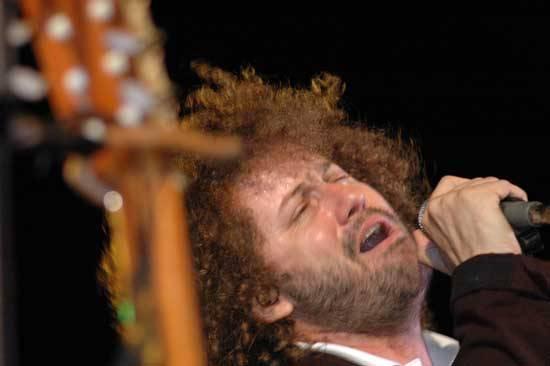 Raúl Paz de concierto en el Karl Marx.