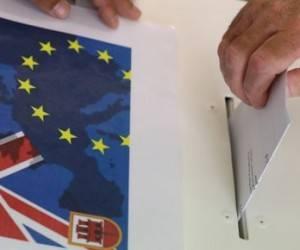 Referendo en Gran Bretaña. Foto: Agencias.