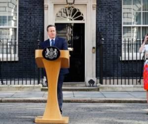 Cameron toma la decisión de renunciar tras los resultados del referendo. Foto: Reuters.
