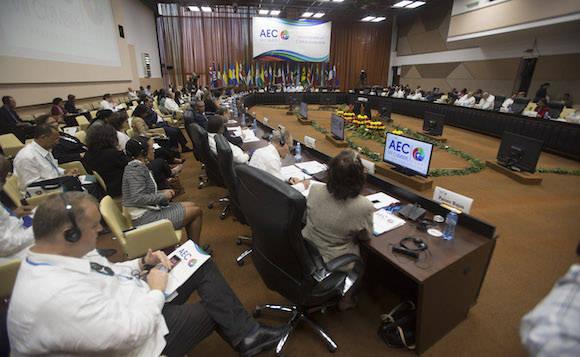 Reunión de Cancilleres de la Asociación de Estados del Caribe. Foto: Ismael Francisco/ Cubadebabate