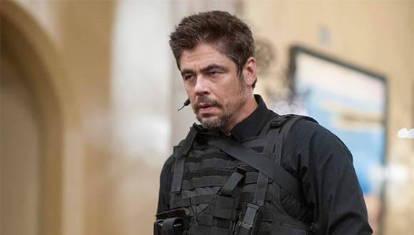 Benicio del Toro en filme Sicario. Foto: Archivo.