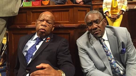 Ocupación de la Cámara de Representantes. Foto: The Hill