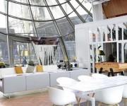 El área tiene 200 metros cuadrados y está cubierto de cristales. Foto: eldiario.es