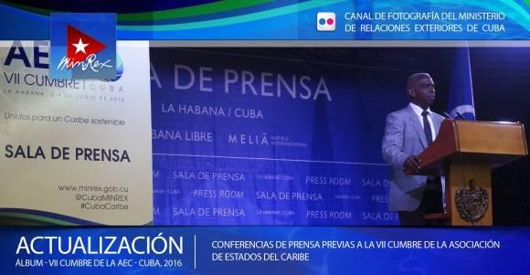Pedro Suárez Reyes, especialista de Organismos Internacionales y América Latina y el Caribe del Ministerio de Transporte de Cuba.