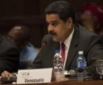 Nicolás Maduro interviene en la Cumbre de la AEC. Foto: Ismael Francisco/ Cubadebate