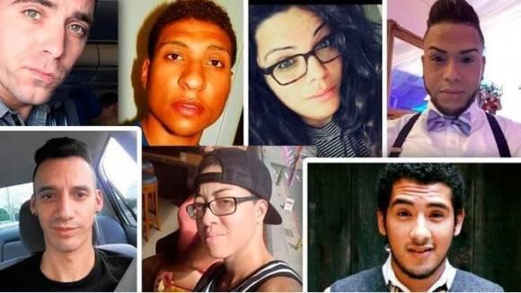 Víctimas de la masacre.