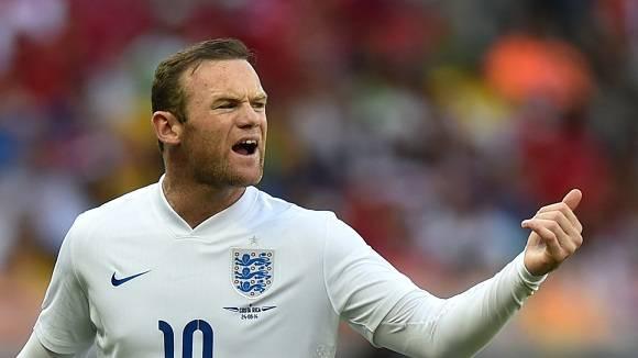 Wayne Rooney, la estrella de Inglaterra.