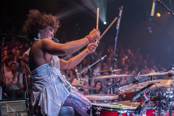 Yissy Garcia en el concierto Descarga con Bandancha. Foto: Alejandro Alfonso/Zona Jazz Cuba.
