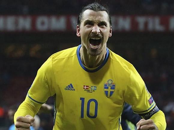 Zlatan Ibrahimovic, la estrella de Suecia.