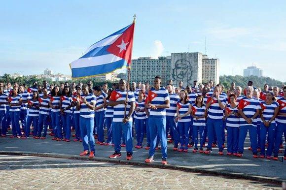 120 deportistas de las 18 disciplinas competirán en la venidera cita. Foto: Ricardo López Hevia/Granma