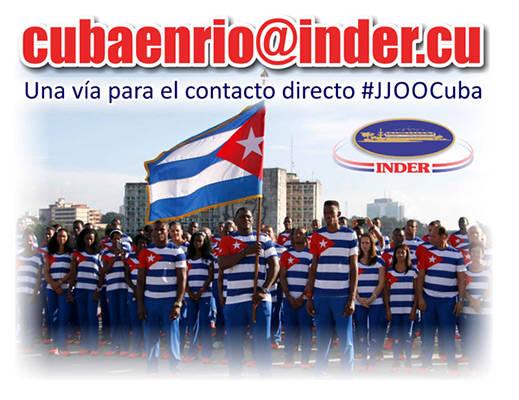 Una vía de comunicación con la delegación cubana en Río 2016. Foto: Jit