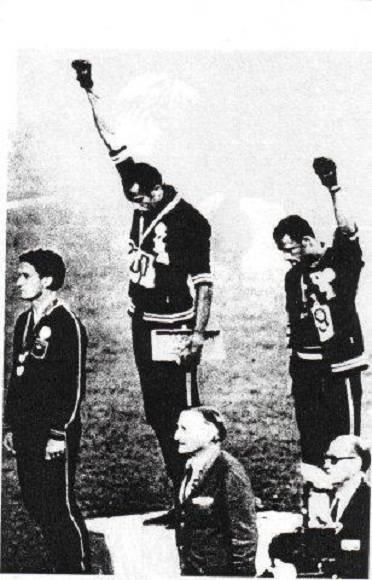 Protesta de los atletas negros norteamericanos