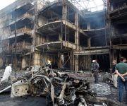 Atentado en Bagdad, capital de Iraq. Foto: Reuters.