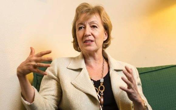 Andrea Leadsom, principal rival de May para el cargo de primer ministro. Foto: The Telegraph.