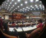 La Asamblea Nacional en sesión Foto: Archivo Cubadebate.