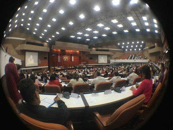 La Asamblea Nacional sesionó en el Palacio de Convenciones entre el 4 y el 8 de julio. Foto: Cubadebate.