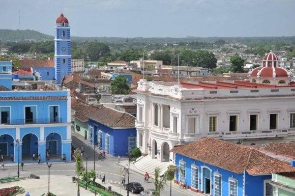 La villa del Yayabo exhibe hoy una imagen completamente renovada. Foto: Vicente Brito/ Escambray.