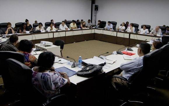 Comisión de Atención a la Niñez y la Igualdad de Derechos de la Mujer. Foto: Ladyrene Pérez/ Cubadebate.