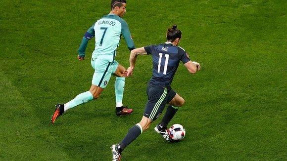 Cristiano Ronaldo y Gareth Bale. Foto Twitter