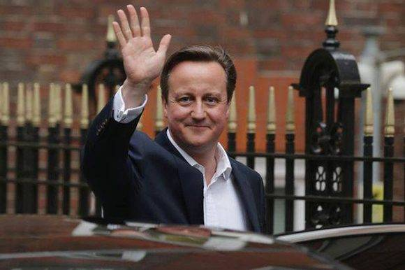 Cameron dice adiós como líder británico.