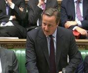 David Cameron asistió a su última sesión en el Parlamento como Primer Ministro. Foto: Reuters.